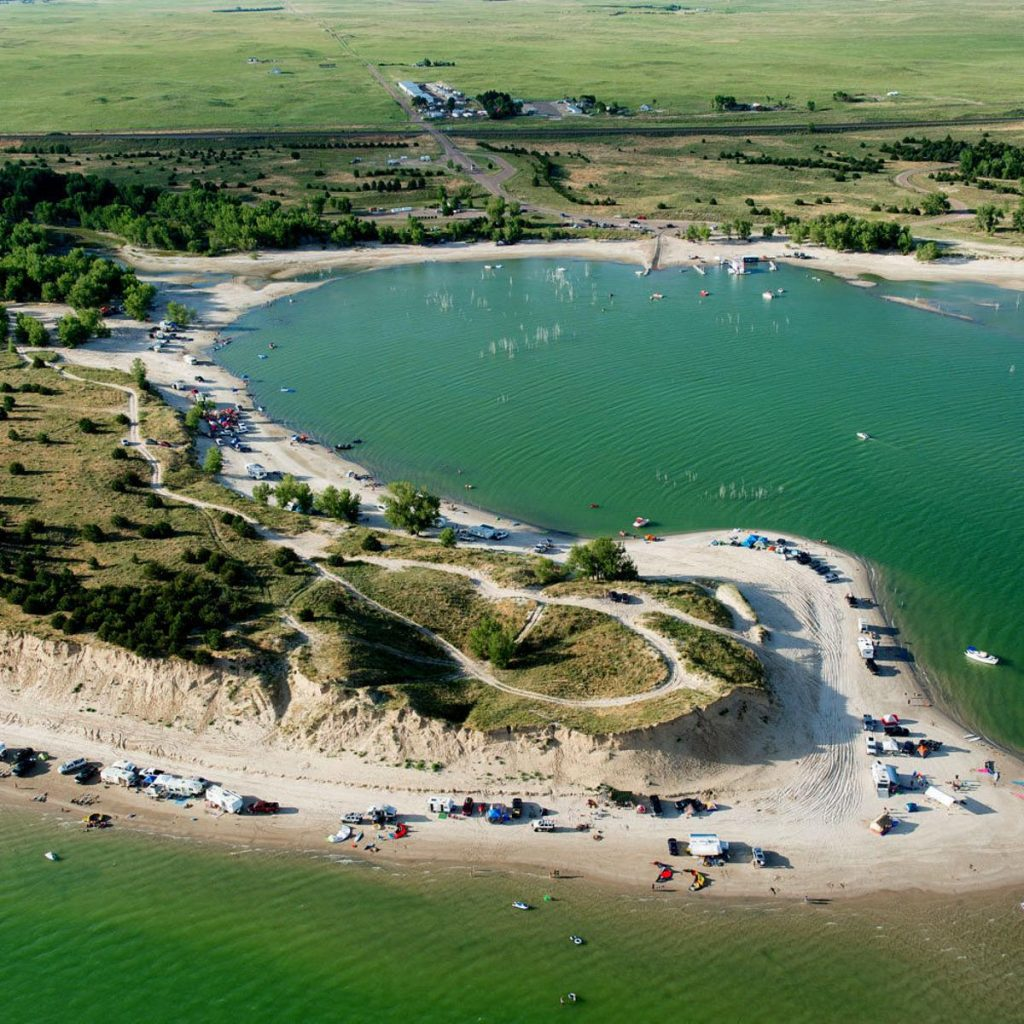 Lake Mcconaughy State Park is a Very Popular Camping Destination