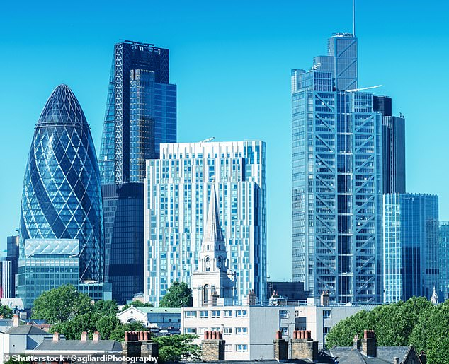 'Destination of choice':Last year Britain attracted investment in 56 projects in the financial sector, according to a survey by EY – the most in Europe