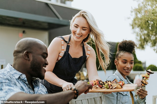 Eating a vegetarian or pescatarian diet reduces your risk of developing severe Covid-19 when compared to people who eat meat, according to a new study. Stock image