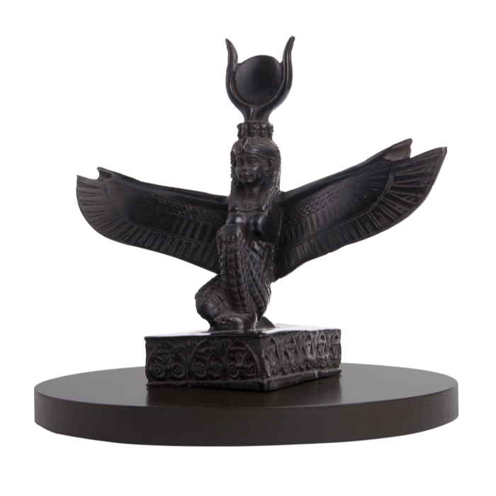Sculpture on Fortecho's pressure-sensing plinth