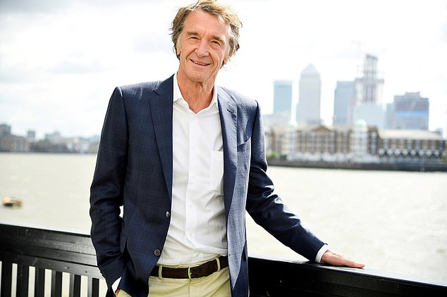 Industrial titan Ineos, run by Sir Jim Ratcliffe (pictured), is to invest £25m in a clean hydrogen fund called Hydrogen One Capital Growth which intends to float on the stock market this year