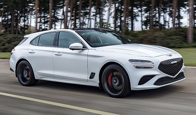 Companies focusing on the sportiest estates include newcomer Genesis, which just launched its G70 Shooting Brake model (pictured) at the Goodwood Festival of Speed