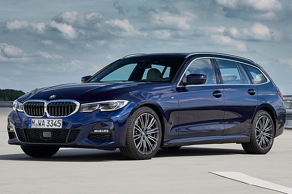 BMW 3-series Touring: BMW¿s 3 Series Touring accounts for a quarter of all ¿3¿ sales. The car is priced from £34,430 for the BMW 318i SE Pro Touring up to £52,400 for the 374 hp 3.0 litre M340i xDrive Touring