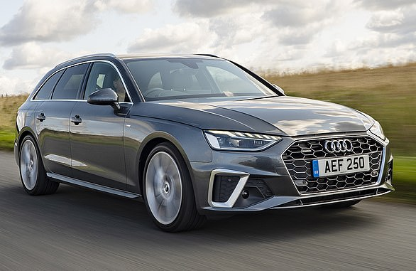 Audi A4 Avant: Audi has variations on two sporty estates in its line-up, but the A4 Avant is the bestseller from £31,575.