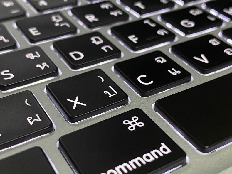 Apple MacBook Keyboard Navigation