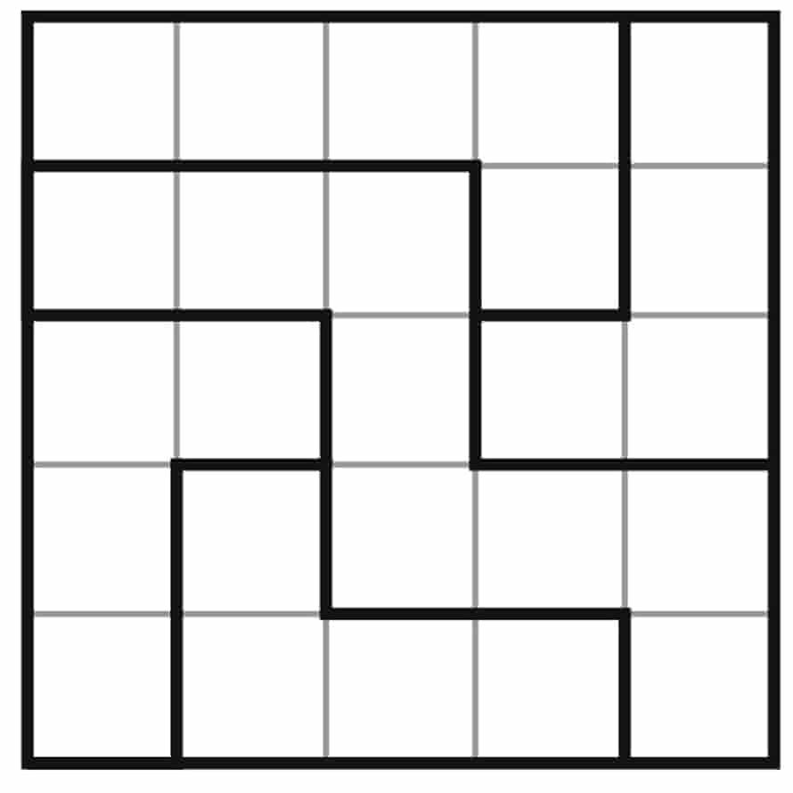clueless sudoku 5x5