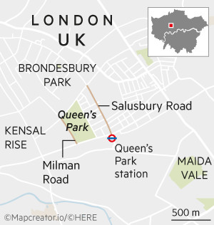 House & Home map - Queen's Park London