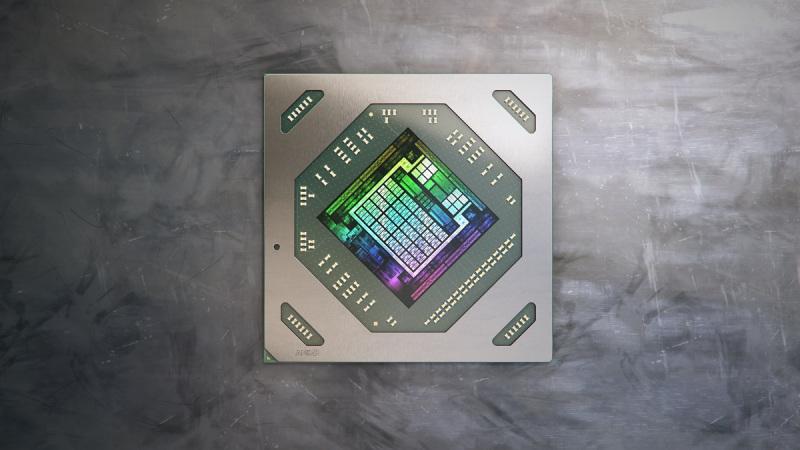 AMD's Radeon RX 6800M GPU.