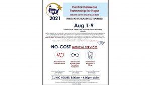 flyer free medical care