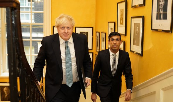 Rishi Sunak Boris Johnson