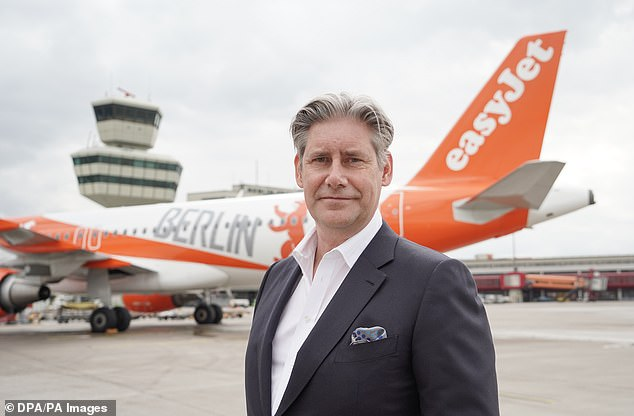Easyjet chief exec Johan Lundgren (pictured) said 'expensive and unnecessary testing' for low-risk destinations 'just doesn't make sense
