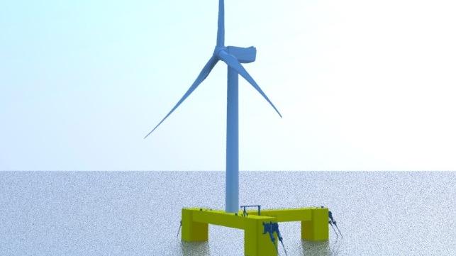 Samsung offshore wind floating design