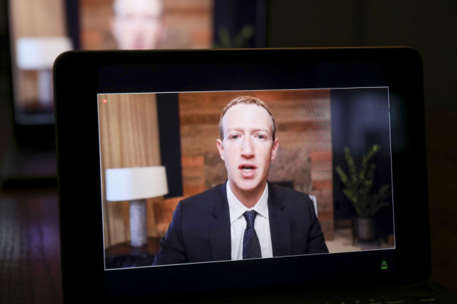 House Committees Confront Tech CEOs Over Online Spread Of False Info