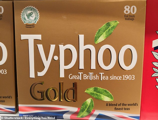 Bagged: Typhoo Tea was founded by John Sumner Junior in the early 1900s in Birmingham to sell in his pharmacy and grocery shops
