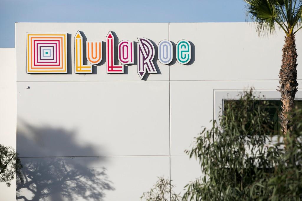 Headquarters of LuLaRoe in Corona, California on December 9, 2017.