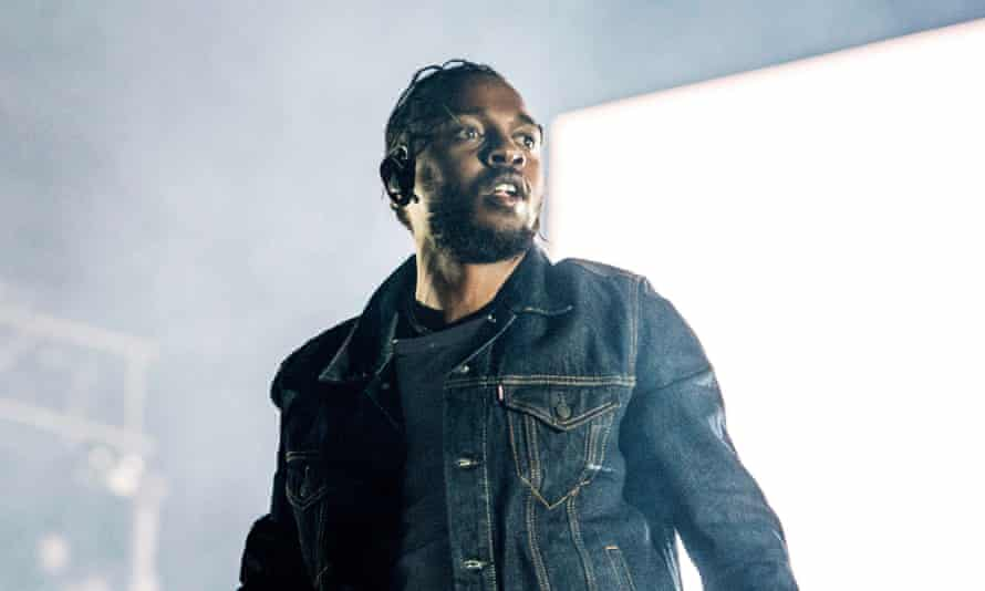 Universal artist Kendrick Lamar performs in Quebec City, Canada, in 2019.