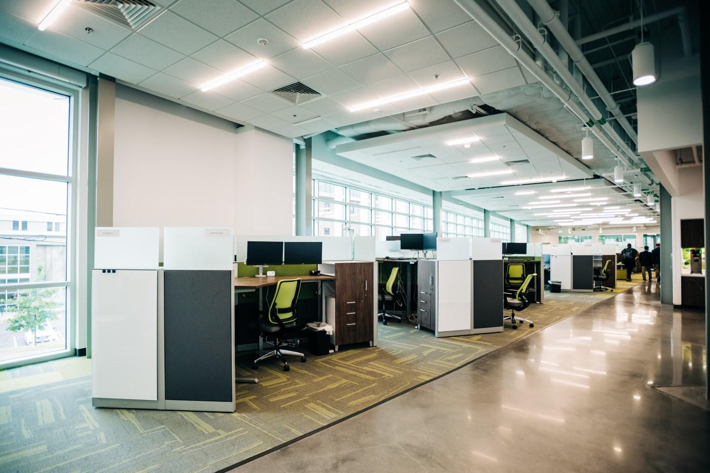 hybrid work space