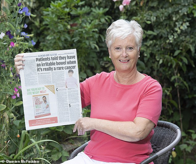 Agonising wait for diagnosis: Angela Denton