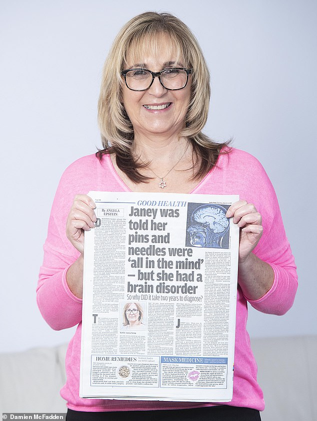 Janey Semp, 58, a mother-of-one from Manchester, who has a debilitating neurological disorder, finally managed to find the right care via Good Health