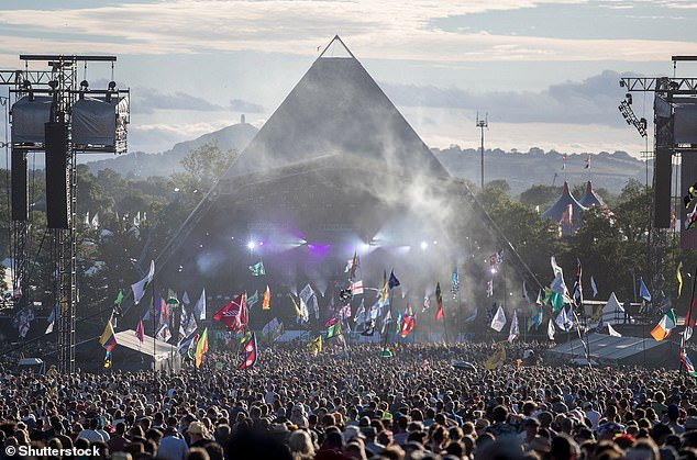 Researchers discovered that during the festival, levels of MDMA and cocaine in the water were so high it could be harming wildlife further downstream, including rare populations of eels. The last Glastonbury Festival was held in 2019 - but it's set to return in 2022