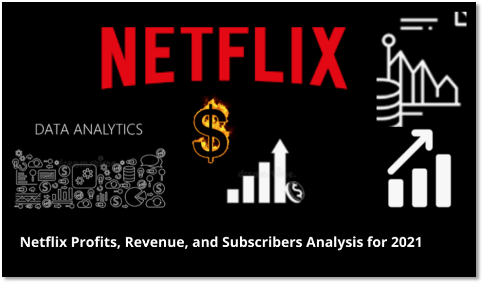 Netflix Profits, Revenue and Subscribers Analysis for 2021