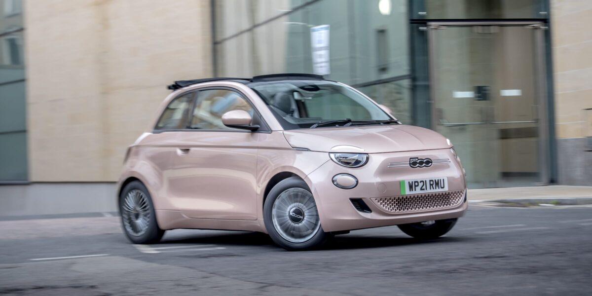 Best electric car under £20K – Fiat 500e
