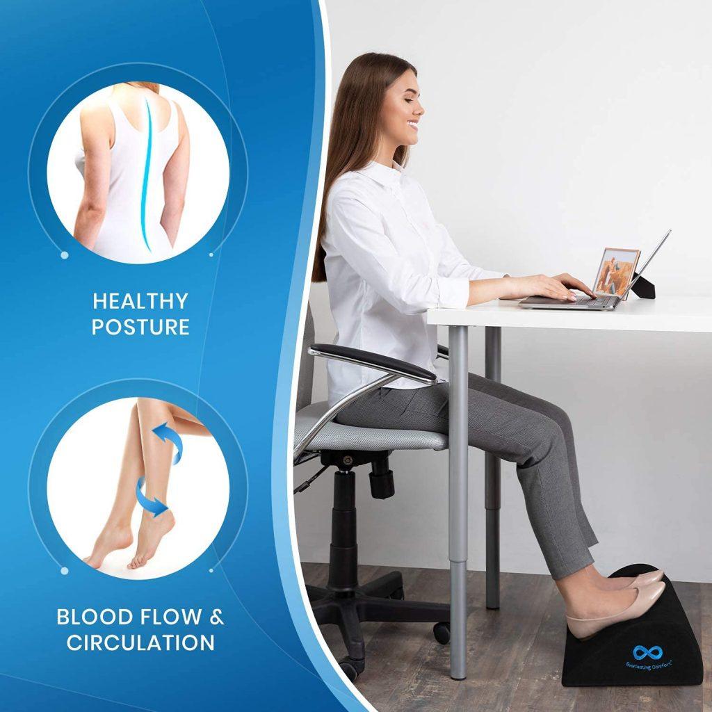 Unknown Health Benefits of Ergonomic Foot Rest Under Desk