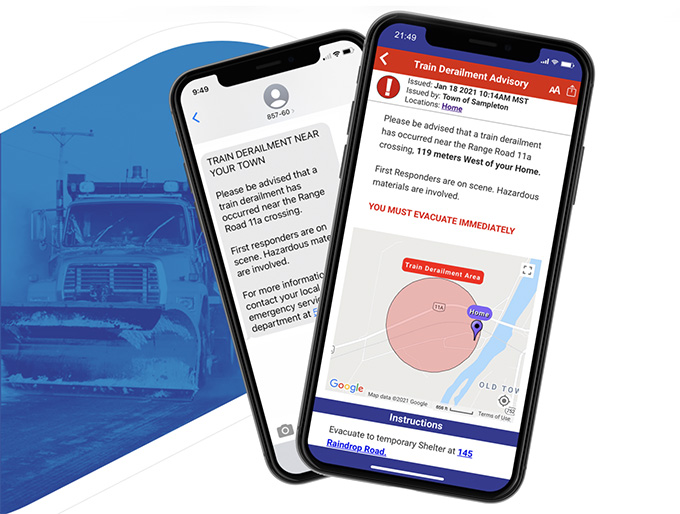 Voyent Alert! is a multi-purpose notification system and alerting app that is designed to support your community through rapid dissemination of targeted information with enriched media alerts for both critical emergencies and day-to-day notifications.