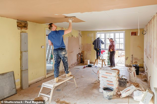 The DIY sector has boomed since the onset of the Covid-19 pandemic in stay-at-home Britain