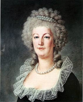 Pictured:Marie Antoinette in1790