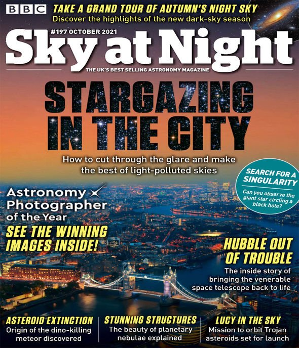 Sky at Night: Oliver Demangeon said the discovery is a sign of things to come