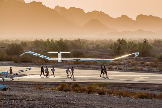 Once airborne, it can bring an internet signal to places previously beyond reach. (Airbus)