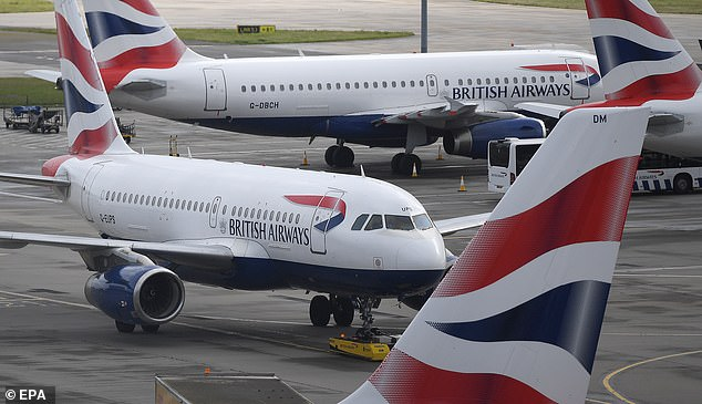 Take-off: Pilots' union Balpa said its members had approved a revised offer on pay and working hours for BA's proposed Gatwick subsidiary after an initial proposal was rejected last month