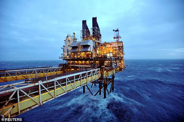 Oil rise: The price of a barrel of Brent crude rose as high as $84.60 in London yesterday - a level not seen since October 2018