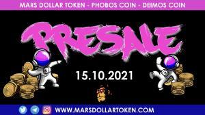 MDT Mars Dollar Token Pre-Sale