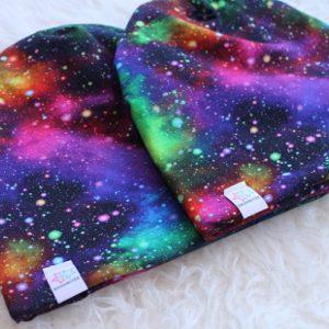 Mössa med galaxmönster stjärnhimmel space stjärnhimmel