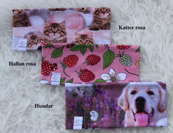 Pannband barn vuxen djur hundar blommor katter fodrat pannband