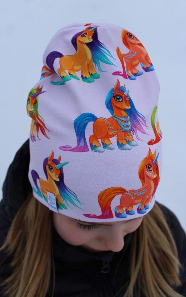 Mössa unicorn