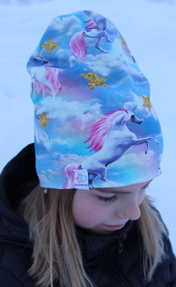 barnmössa unicorn enhörning