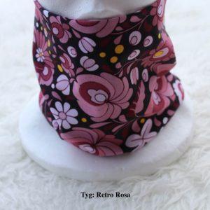 Tubsjal buff valfritt tyg retro rosa