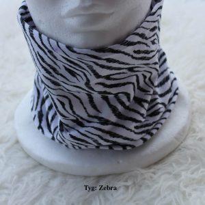 Tubsjal buff valfritt tyg zebra