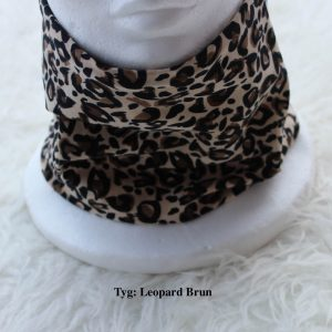 Tubsjal buff valfritt tyg leopard brun