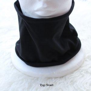Tubsjal buff valfritt tyg svart