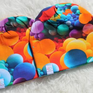 Mössa ballonger bollar färgglad mössa