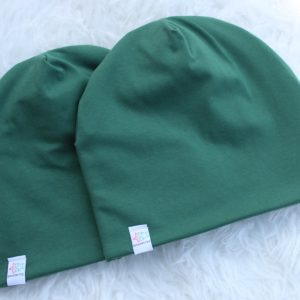 mössa pannband vuxen barn grön