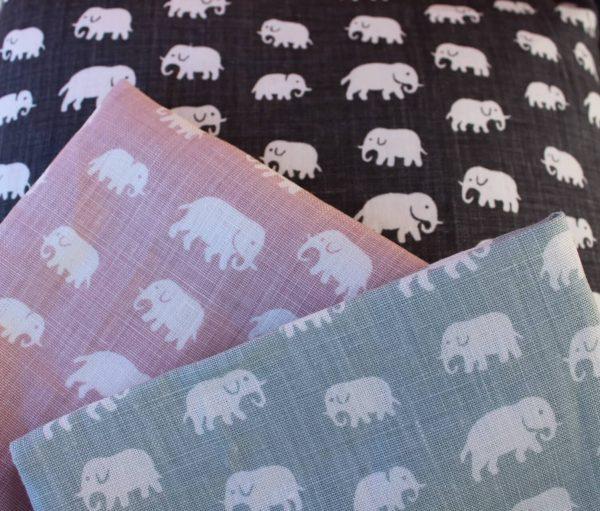 svenskttenn kuddfodral kudde elefanter