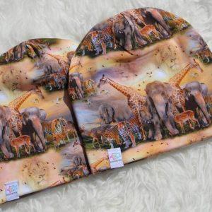 mössa safari djur savann barn vuxen