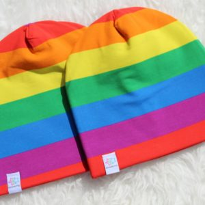 mössa Rainbow regnbåge