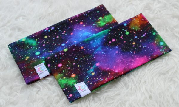 pannband galax space stjärnhimmel vuxen barn pannband med foder