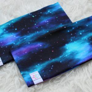 pannband norrsken stjärnhimmel barn vuxen pannband med foder